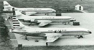 Sud Caravelle: первый французский реактивный лайнер » Неизвестная авиация